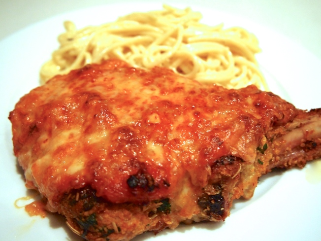 Ultimate Veal Parmigiana