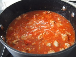 Sausage Meatball Sauce