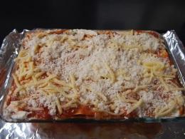 Sausage Meatball Lasagna