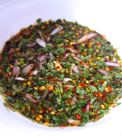 Thai Spicy Chilli Dipping Sauce for Grilled Meats