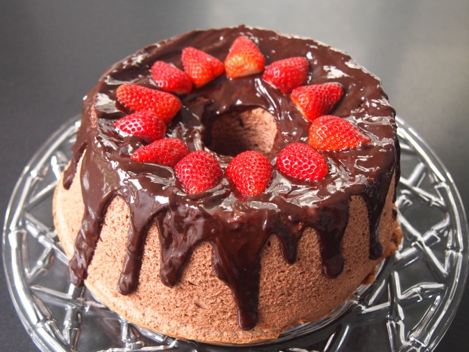 A Fat Free Cake - Chocolate Angel Food Cake