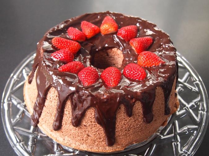 A Fat Free Cake - Chocolate Angel Food Cake