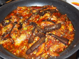 Eggplant with Fish Fragrant Sauce