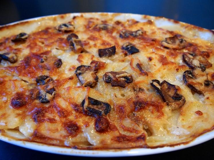 Potato & Mushroom Gratin