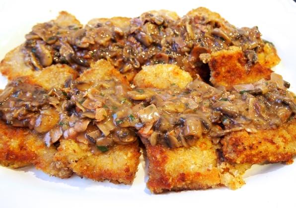 Jager Schnitzel - Schnitzel with Rich Mushroom Gravy