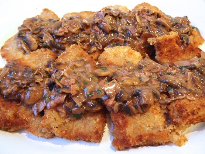 Jaeger Schnitzel - Schnitzel with Rich Mushroom Sauce