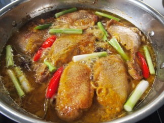 Vietnamese Duck Braised in Spiced Orange Juice