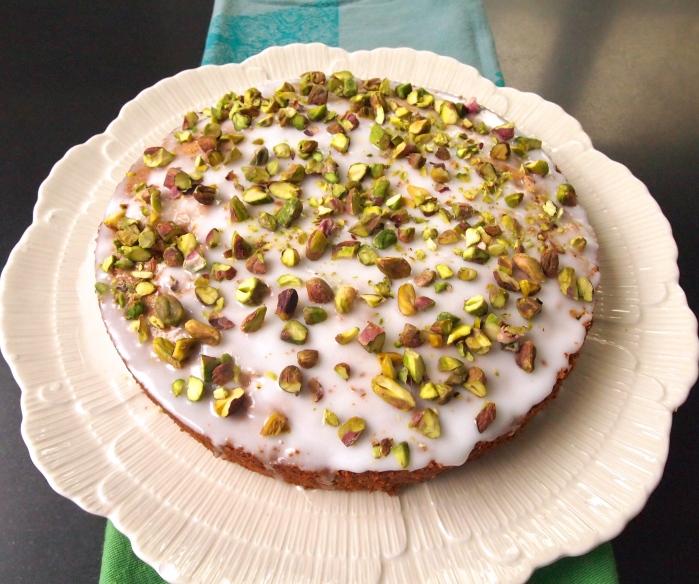 Nigel Slater's Pistachio & Rosewater Cake
