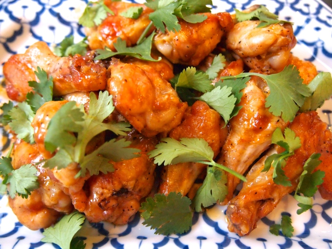 Tyler Florence Lime Red Curry Wings
