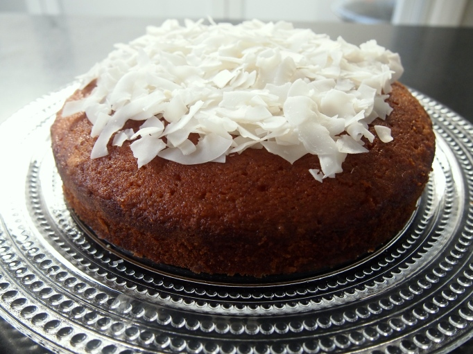 Rachel Allen's Lemongrass Coconut Cake