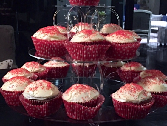 Martha Stewart's Red Velvet Cupcake