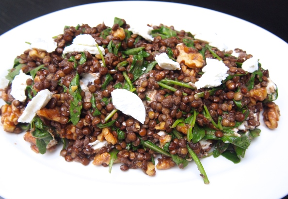 Delia Smith Warm Lentil Salad