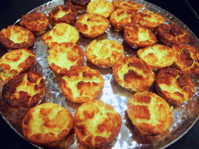 Perfect Finger Food - Mini Baked Cheese Souffle