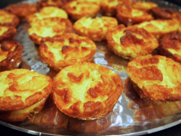 Perfect Finger Food - Mini Twice Baked Cheese Souffle