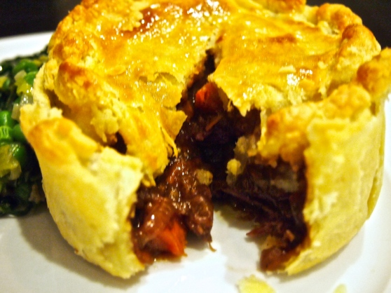 Best Ever Meat Pie - Gary Mehigan Beef Onion & Guinness Pie