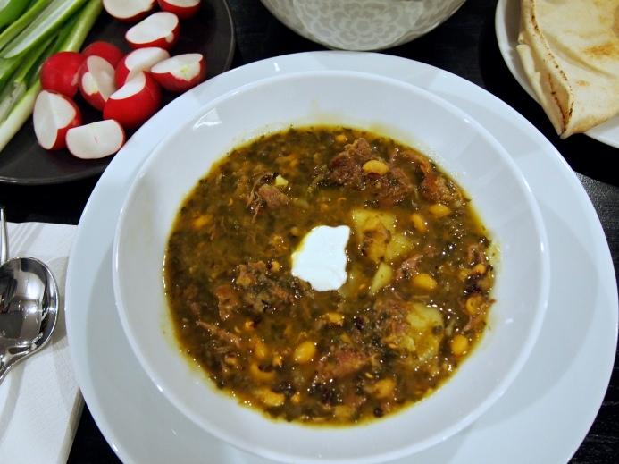 Persian Soup - Abgoosht Bozbash