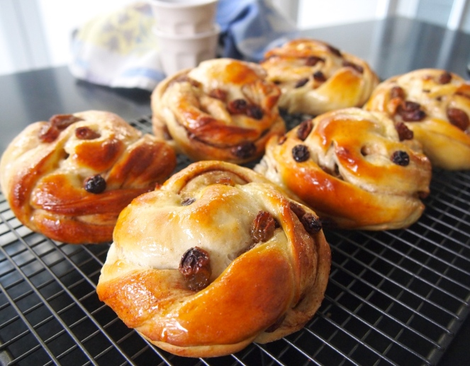 Best Ever Cinnamon Raisin Buns
