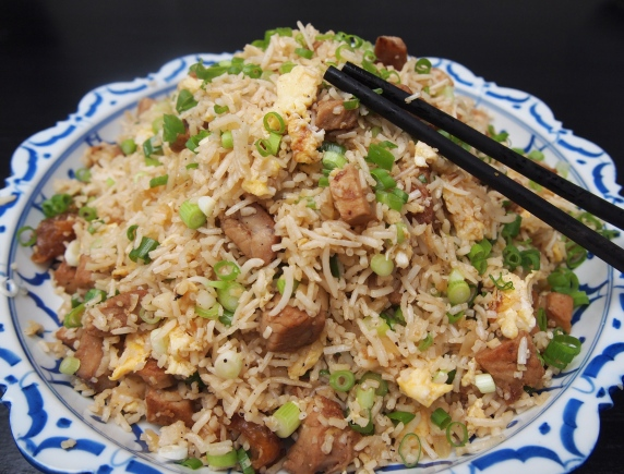 Kylie Kwong Egg Fried Rice with Pork