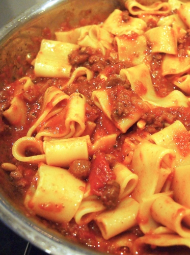 Amazing Pasta with Sunday Gravy