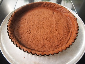 Chocolate Pastry Tart Base