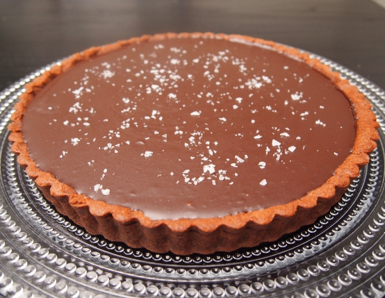 Donna Hay Salted Caramel Chocolate Tart