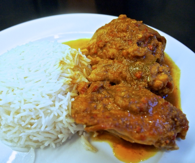 Malaysian Chicken Curry - Kapitan Chicken