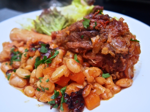 Best Ever Winter Comfort Food - Braised Lamb Shanks with White Beans