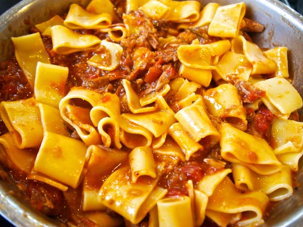 Slow Cooked Duck Ragu for Pasta