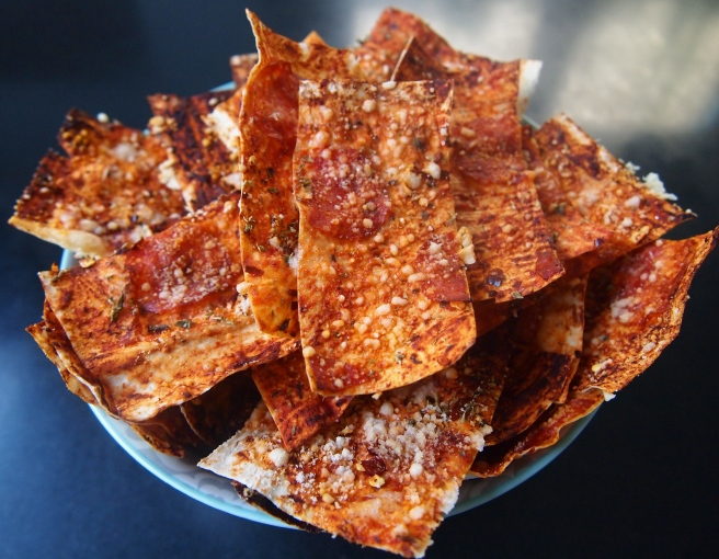 Perfect Party Appetisers - Pizza Crackers