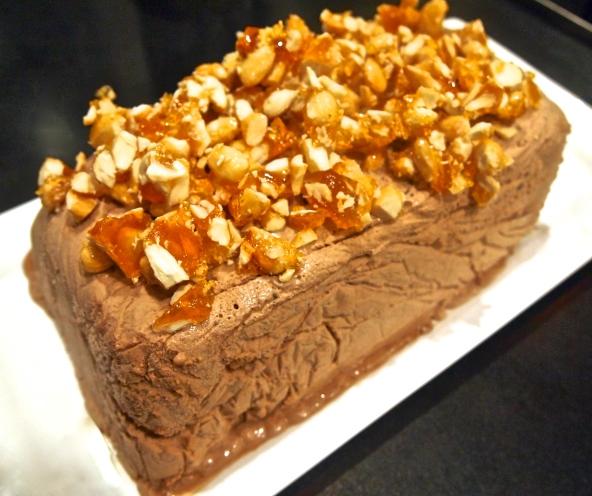 Praline Chocolate Semifreddo