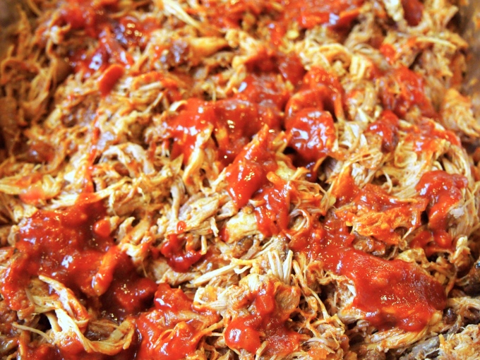 New Years Eve Party Menu - Pulled Pork