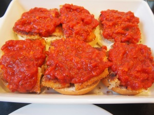 Chicken Parmigiana Sliders
