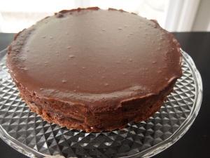 Chocolate Hazelnut Cake with Espresso Ganache