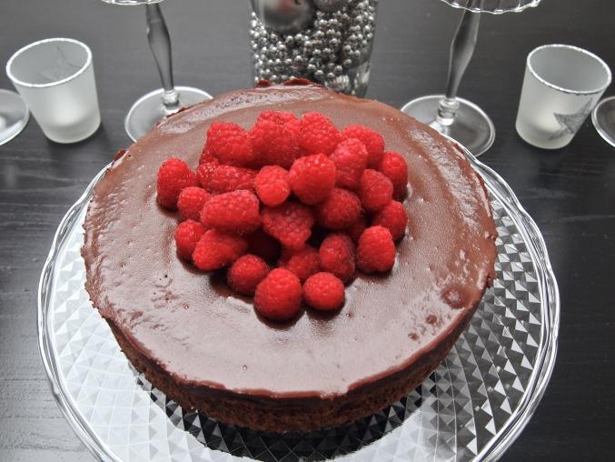 Best Ever Chocolate Dessert - Chocolate Hazelnut Cake with Espresso Ganache