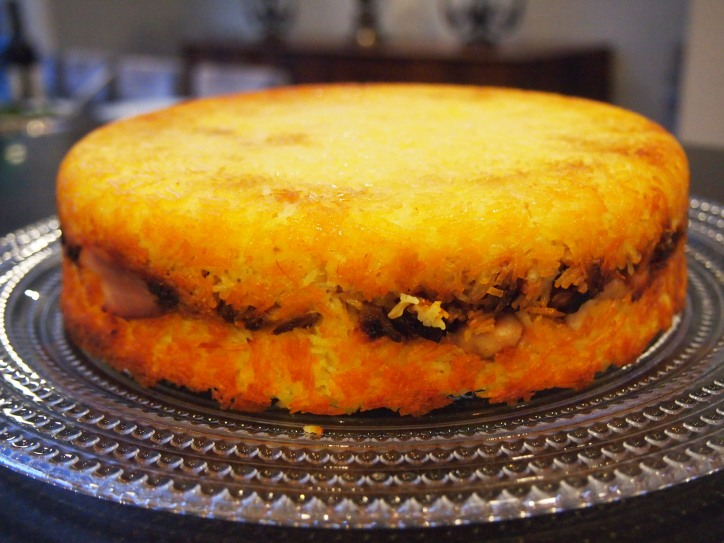 Persian Comfort Food - Tahchin
